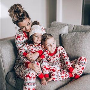 Hanna Andersson fair isle Christmas pajama Top